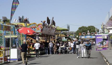 Les firetes al recinte de l'antiga Hípica durant les Festes de Tardor de l'any passat.