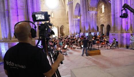 Des de Lleida TV també es van ultimar els detalls.