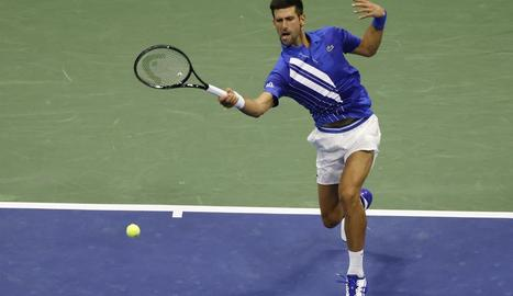 Novak Djokovic es va mostrar imparable amb Jan-Lennard Struff.