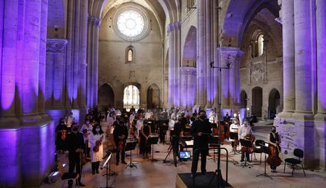 Concert homenatge als morts i als que lluiten contra la Covid