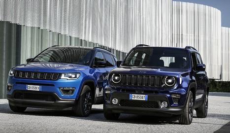 Els Renegade 4xe i Compass 4xe seran els SUV Jeep més eficients en consum.
