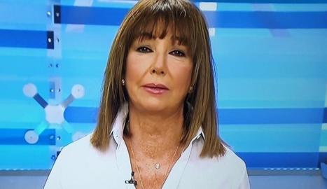 Ana Rosa i la seua nova imatge.