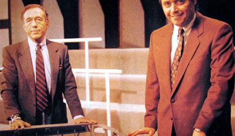 Nacho Lewin i Michael Robinson.