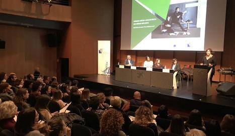 Imatge d'arxiu d'una jornada sobre suïcidi celebrada el febrer passat a Lleida.