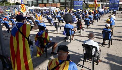 Els actes de l'ANC de l'Onze de Setembre sumen 131 mobilitzacions i una participació 59.500 persones
