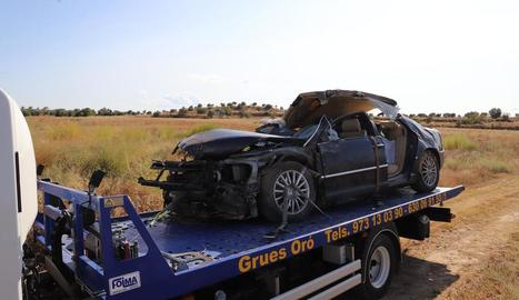 Mor un veí de Sarroca de Lleida en un accident de trànsit