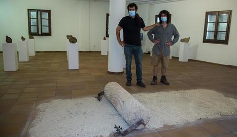 El director de Lo Pardal i l'artista d''Orografies', Nil Nebot.