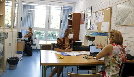 Arrenca el curs escolar a Lleida