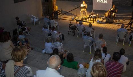 Xarrada espectacle de Ramon Simó i Joan Alavedra, després de l'anunci diumenge de la nova temporada.