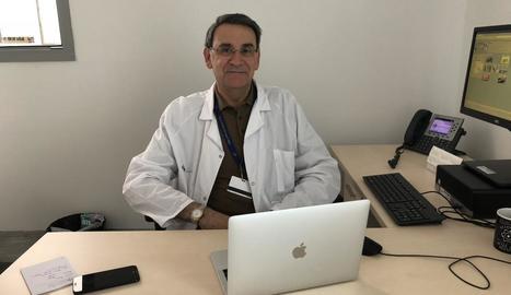 Dídac Mauricio, investigador de l'estudi, amb l'IRBLleida i la UdL.
