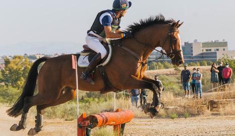 Victòria d'Albert Hermoso en el Concurs Nacional de La Dehesa