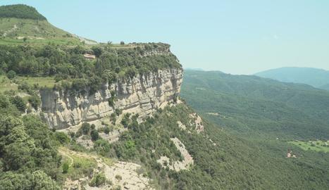 Els cingles de Tavertet són un dels miradors més espectaculars de la Catalunya central.
