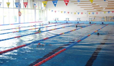 La piscina coberta començarà els cursos l'1 d'octubre.