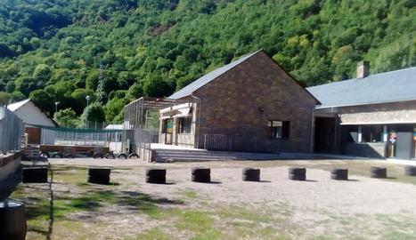 L'escola Vall de Boí, que avui sí que rebrà els nens
