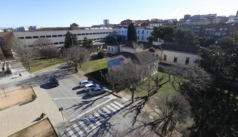 Vista aèria de l'hospital Santa Maria.