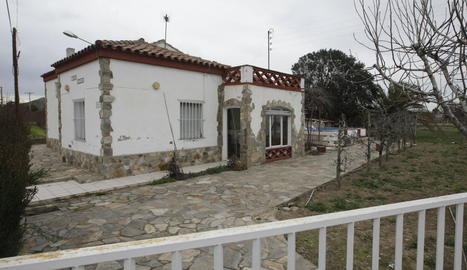 Imatge d'arxiu d'una casa de l'Horta que va patir un robatori.