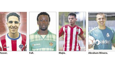 El Lleida anuncia els primers quatre reforços