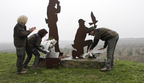 Homenatge als rurals David Iglesias i Xavi Ribes.