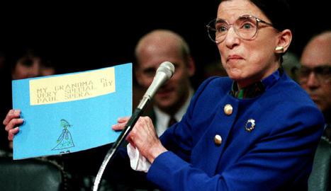 La jutge del Tribunal Suprem dels EUA Ruth Bader Ginsburg.