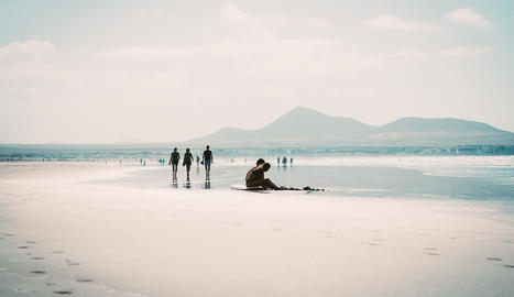 Aquesta imatge de Lanzarote li ha donat el segon premi a Daniel Gregorio.