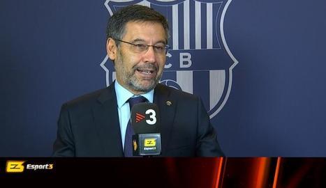 Barto en la ja històrica entrevista.
