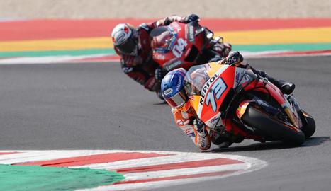 Àlex Márquez va completar la seua millor cursa i va acabar davant d'Andrea Dovizioso.