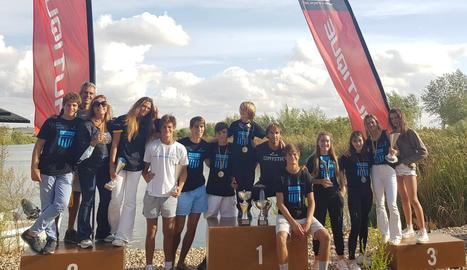 El Club Esportiu Lleida Ski&Wake ha aconseguit el títol estatal per equips per sisè any consecutiu.