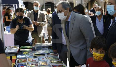 Mercado del cuento infantil Encontats de Balaguer