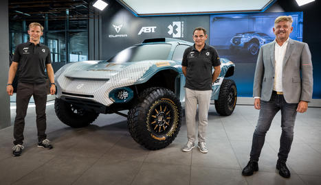 La marca va aprofitar la inauguració del seu primer Cupra Garage a Europa, a Hamburg, per anunciar la seua participació en la competició Extreme E.