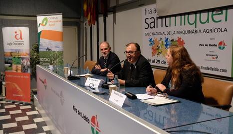 Imatge d'arxiu d'una jornada agrícola a la Fira de Sant Miquel de Lleida.
