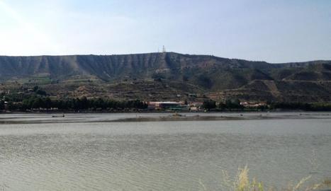 El pantà de Mequinensa és el principal reclam del projecte.