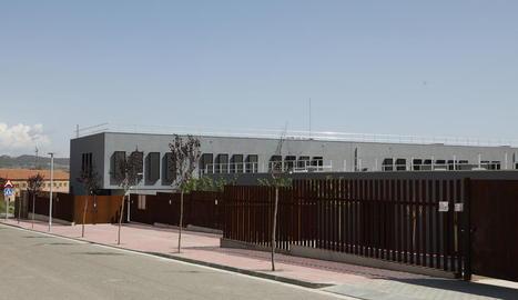 L'escola d'Almenar, estrenada aquest curs.