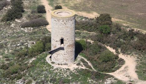 Almenara Alta, divisar la plana d'Urgell