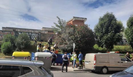 El cos ha estat trobat entre uns matolls a la zona de Mercolleida.