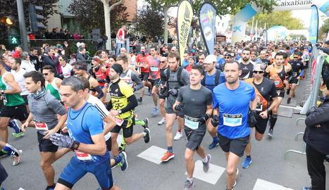 La Mitja Marató de Lleida no tindrà edició aquest any.