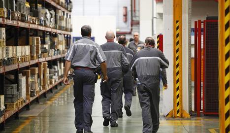 Molts treballadors s'han reincorporat als llocs de treball després d'estar en un ERTO, però encara hi queden 6.258 lleidatans.