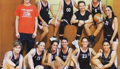 Equip de bàsquet femení de Vallfogona de Balaguer