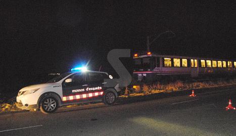 Els Mossos d'Esquadra van obrir una investigació sobre les causes de l'atropellament mortal