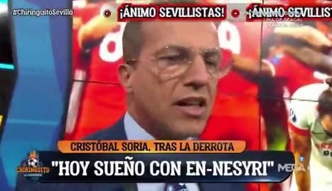 Cristóbal Soria al programa.