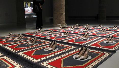 Obre al públic a Lleida la col·lecció d'art de Tatxo Benet formada per 31 peces que han patit diverses formes de censura