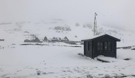 Els termòmetres cauen fins els vuit graus negatius al Pirineu