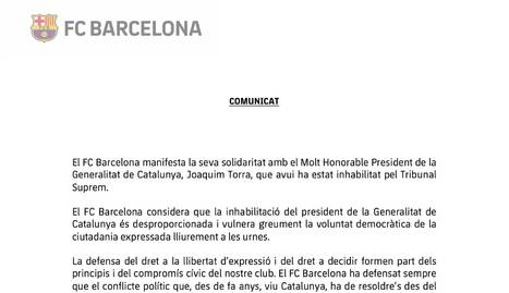 El FC Barcelona veu
