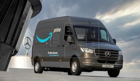 Amazon s'ha convertit en el principal client de vehicles elèctrics de Mercedes-Benz al fer-li un encàrrec de més de 1.800 unitats de les seues furgonetes eVito i eSprinter.