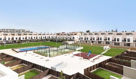 Viure amb tots els luxes a Lleida. Coneix Les Vil·les de l'Aigua!