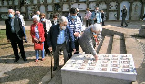 Missa i homenatge als màrtirs lleidatans al cementiri de Lleida