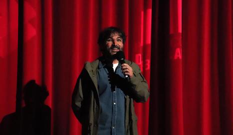 Jordi Évole va presentar dilluns el documental 'Eso que tú me das'.