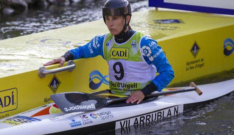 Núria Vilarrubla podria certificar el seu bitllet olímpic diumenge.