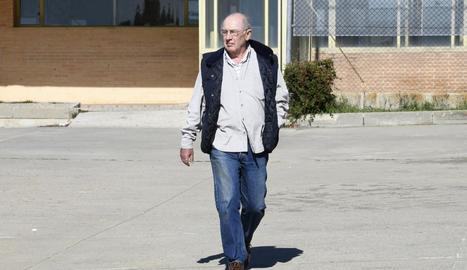 Imatge d'arxiu de Rodrigo Rato en una sortida de la presó.