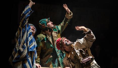 L'última estrena de La Baldufa, 'Bye, bye, Confetti', un muntatge teatral per al públic juvenil i adult.