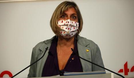 La consellera Alba Vergés.